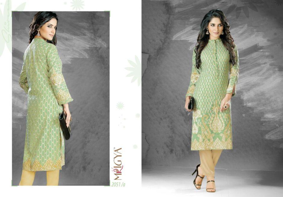 Mrigya shrieen casual ready to wear kurtis concept
