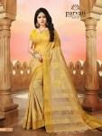 Parvati presenting silk fusion vol 11 stylish Rich look silk sarees collection