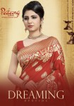 Patang presenting dreaming special traditional rich look sarees collection