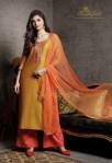 Rvee gold launch festive crush casual elegant look collection of salwar kameez