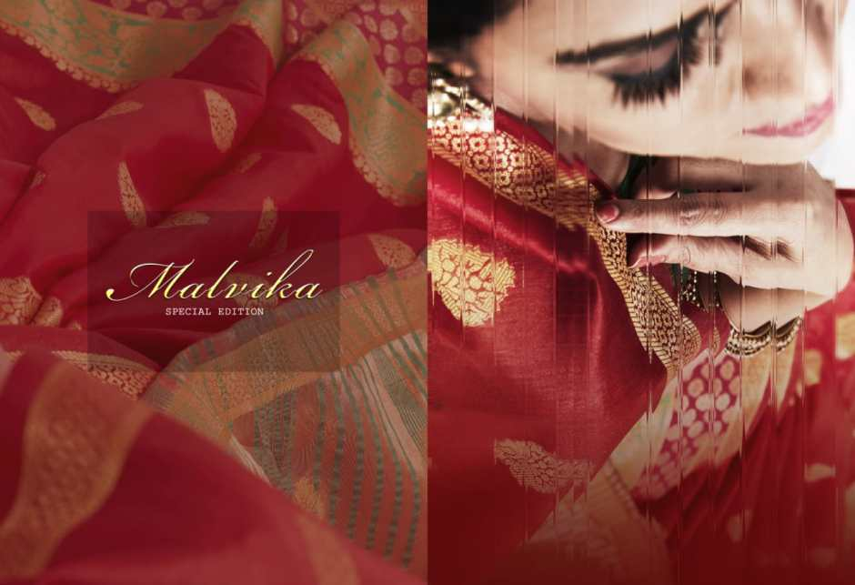 Taani sarees presents malvika beautiful casual wear sarees collection