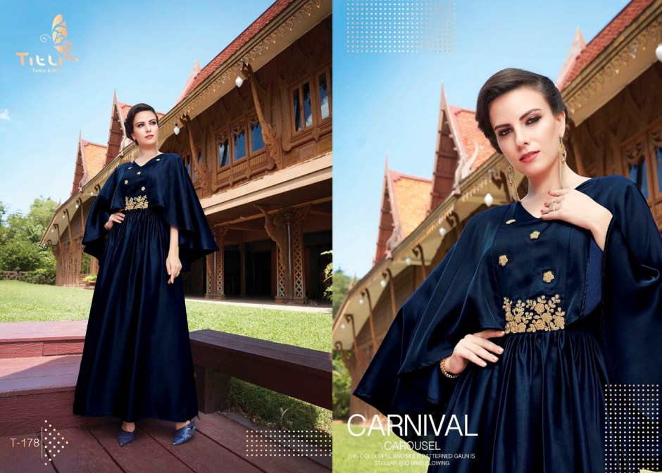 Titli launch glamour Exclusive designer stylish concept of Kurtis