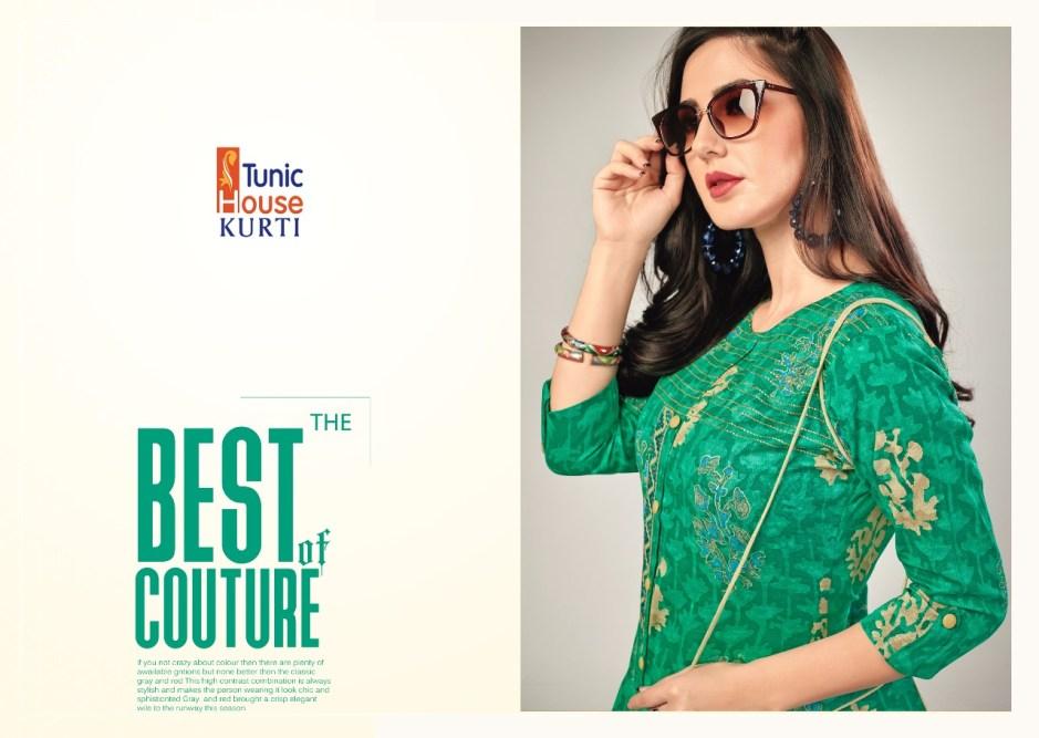 Tunic house jodi beautiful casual daily wear kurtis concept