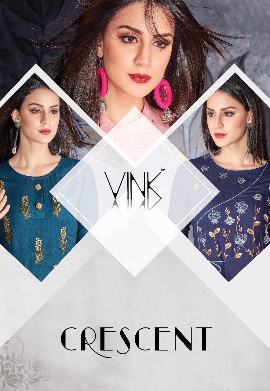 d6e7e06e4 CRESCENT bY vINK presents Stylish party wear gown style kurtis concept