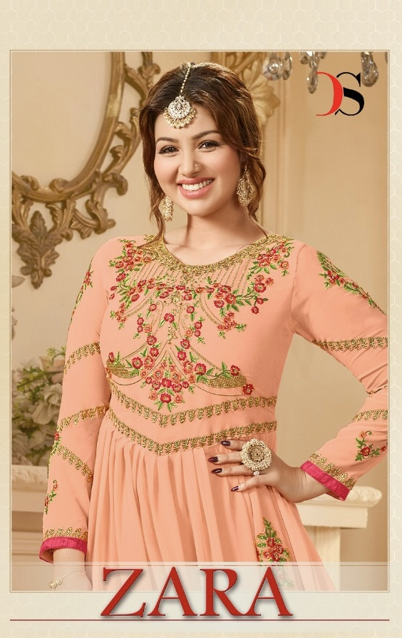 Deepsy suits presents zara heavy festive special collection of Gowns style salwar kameez