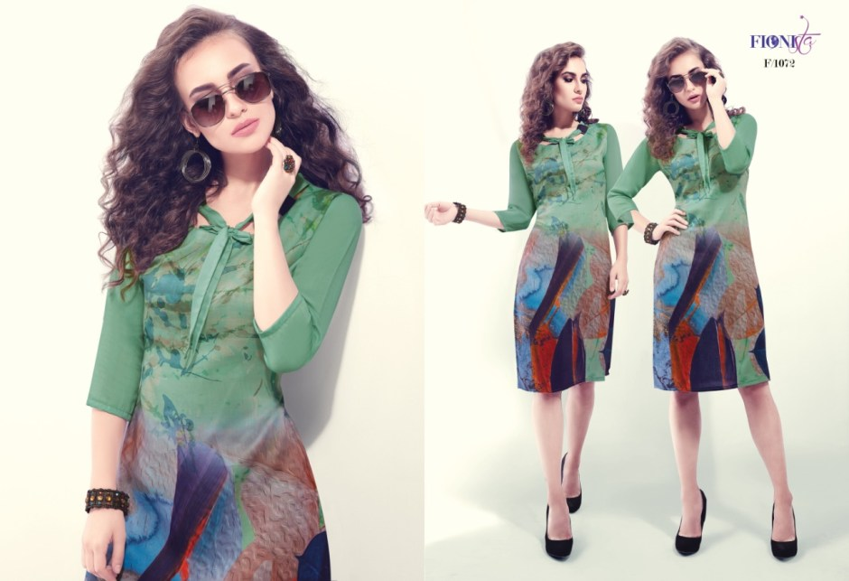 Fionista hope casual daily wear elegant look kurtis collection