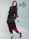 Inaya by studio libas presents luxury pret collection Special designer festive collection of kurti style tunic with culottes pants concept