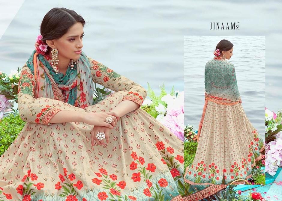 Jinaam dress p lTD presents nafeesa heavy traditional festive collection Of salwar kameez