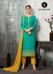 Kalarang creation sunflower casual wear salwar kameez collection