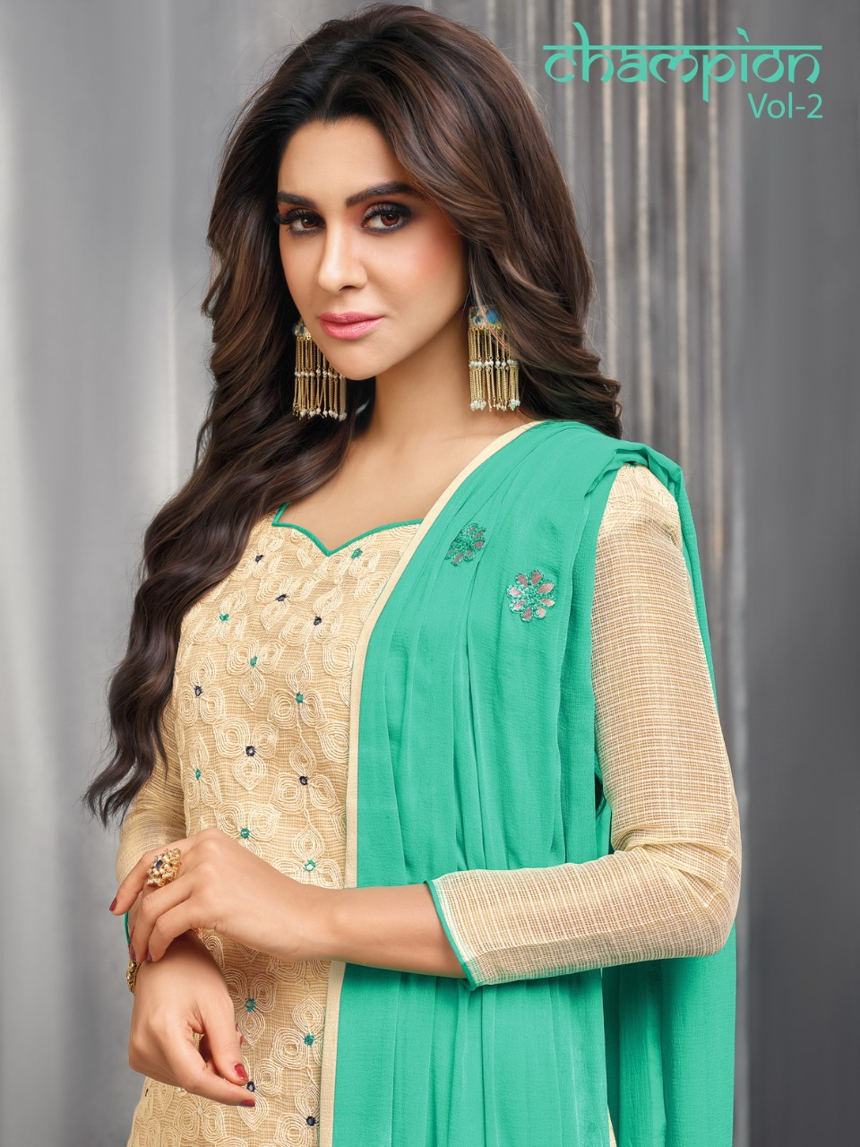 Kapil trendz presenting champion vol 2 casual daily wear salwar kameez collection