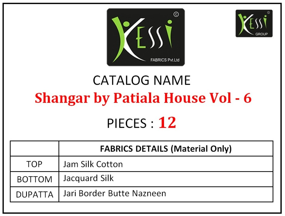 Kessi fabrics presents shangar by patiala house vol 6 casual daily wear kurtis collection