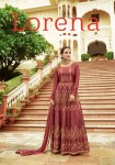 Leo fashion presenting lorena heavy Stylish wedding festive season gowns concept