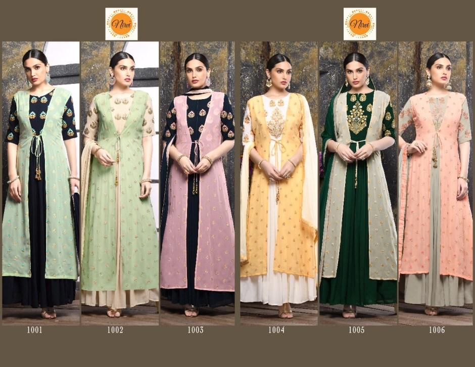 NIRVI presentinb kaanchi ethnic traditional festive season collection Of Salwar kameez