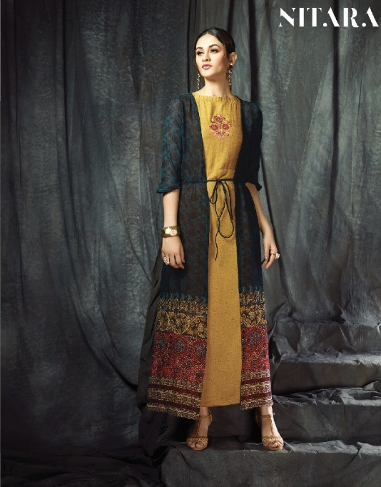Nitara aNOLI simple stylish wear kurtis concept