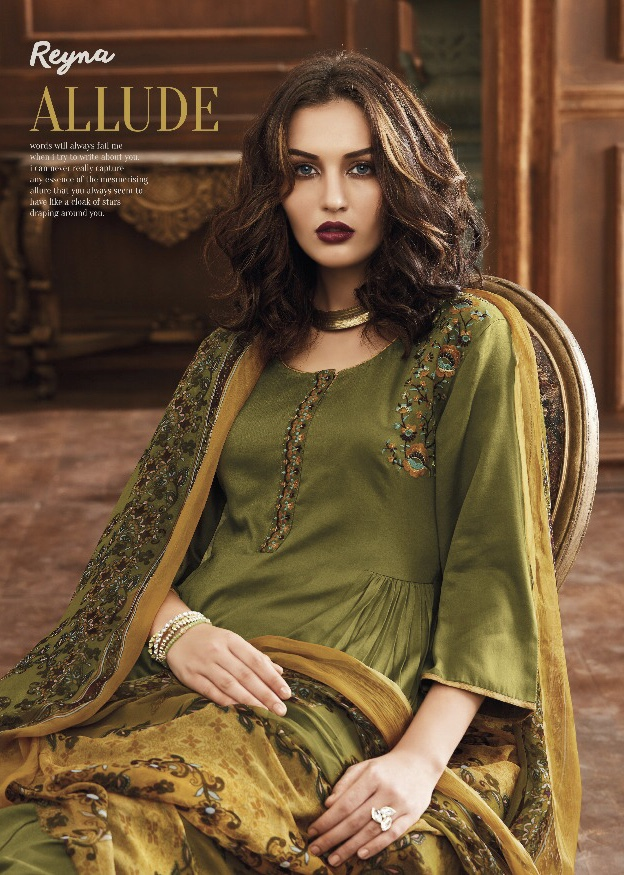 Reyna Launch Allude Simple elegant look salwar kameez collection