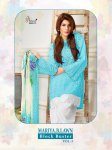 Shree fabs presenting mariya b lawn block buster vol 3 casual fancy collection of salwar kameez