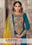 Shree fabs shehnai vol 15 heavy bridal collection of salwar kameez