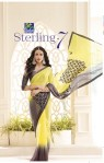 Vishal sarees presents sterling 7 stylish trendy look sarees collection
