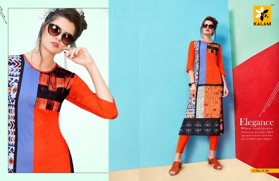 Kalam presenting kalam casual ready to wear kurtis concept