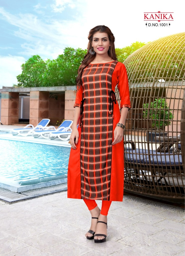 Kanika nayra Casual ready to wear kurtis concept