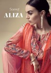 Sanna fashion ALIZA simple elegant look salwar kameez concept