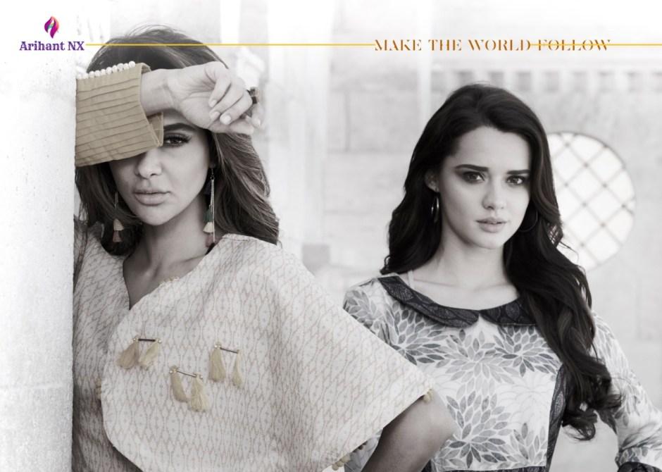 Arihant designer kRISHWI stylish party wear gowns concept