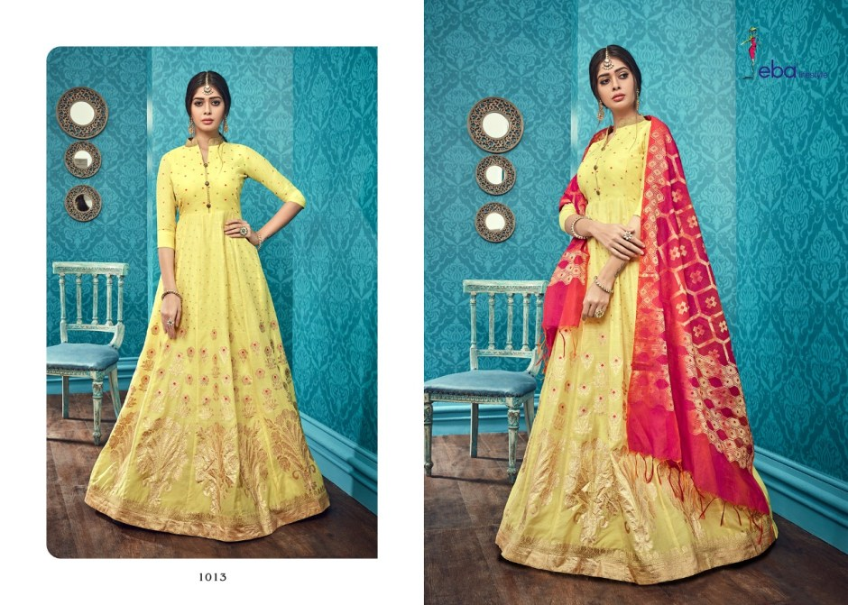 Eba lifestyle neerja vol 2 New readymade Festive collection of gowns