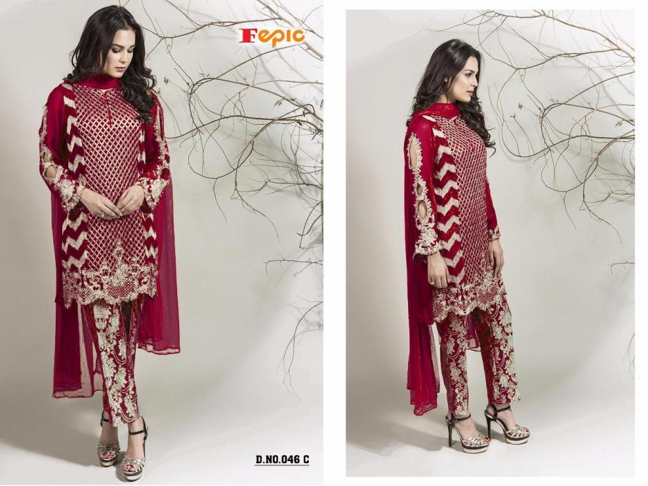 FEPIC presenting sanober blockbuster Vol 5 fancy collection of salwar kameez