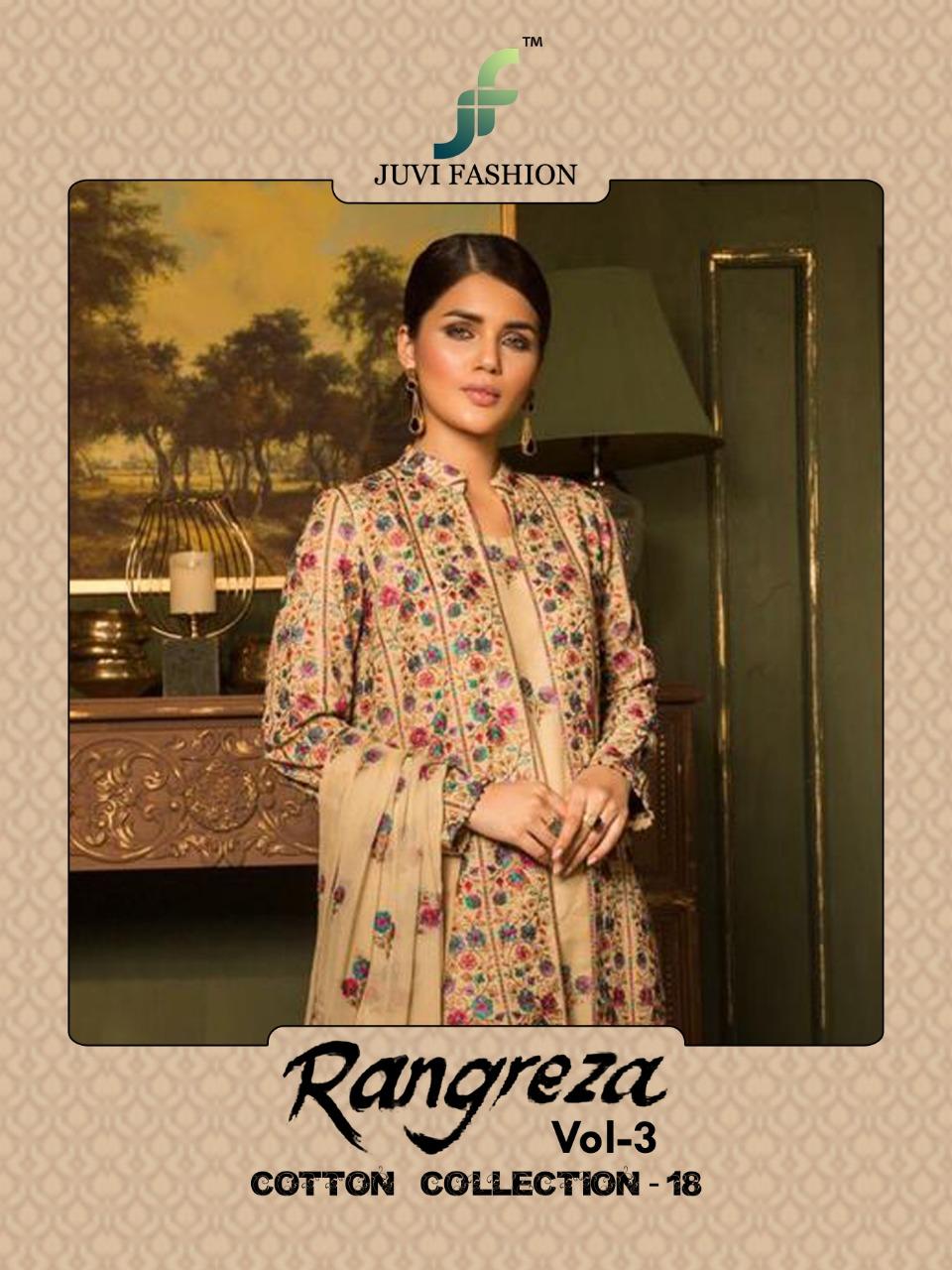 JUVI fashion Launch rangreza vol 3 pakistani concept of salwar kameez