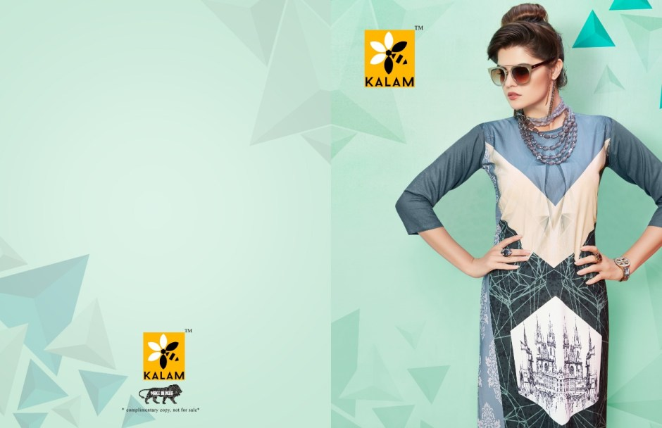 Kalam launch kalam simple casual ready to wear kurtis concept