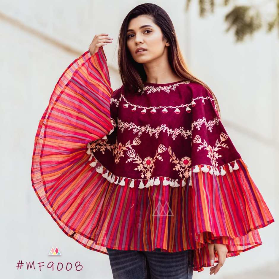 Mesmora launch rangeela re beautiful winter collection of tops