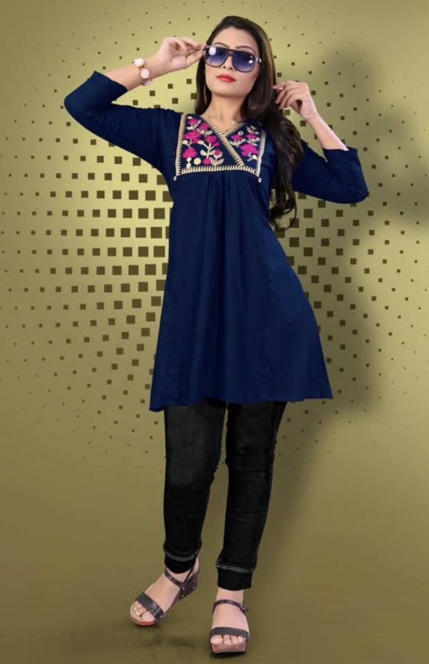 Mirayaa smiley vol 5 casual ready to wear kurtis concept