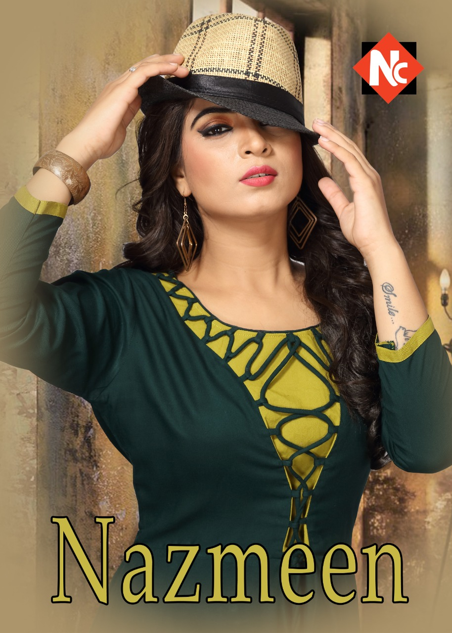 NEETI launch nazmeen ready to wear long kurtis concept