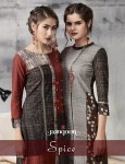 Rangoon spice casual long printed Collection of kurtis