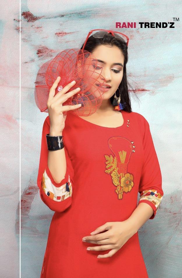 Rani trendz city light vol 5 ready to Wear kutis collection