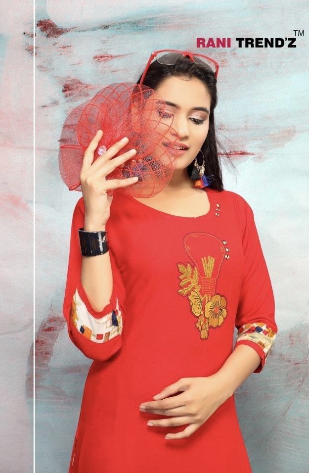 Rani trendz city light vol 5 ready to Wear kutis collection