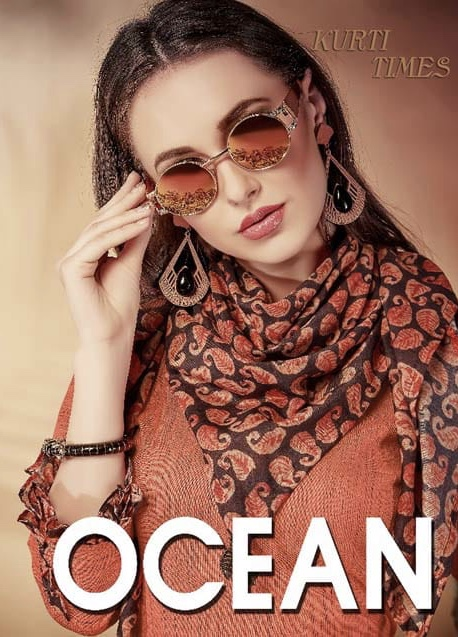 S r creation ocean exclusive stylish collection of kurtis