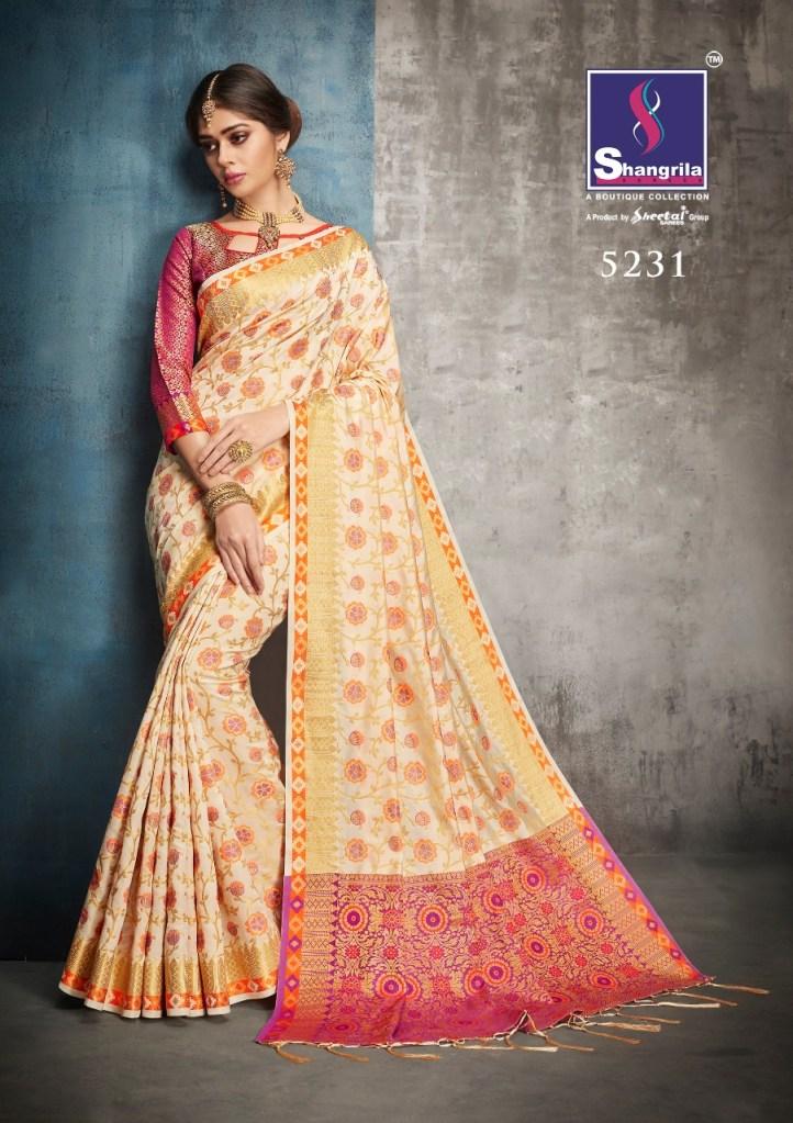 Shangrila Launch sukanya silk simple rich look sarees collection
