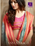Shangrila Vanya silk vol 3 simple cotton printed sarees concept