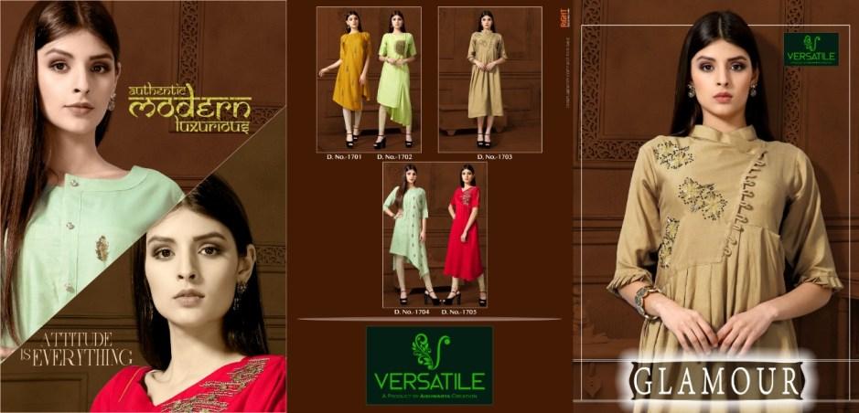Versatile glamour mesmerising collection of kurtis