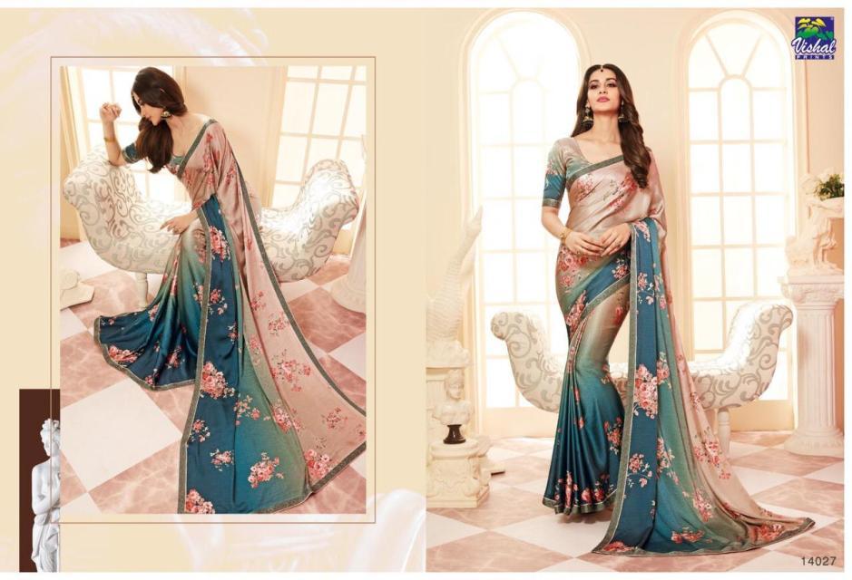 Vishal sarees D'AMORE beautiful party wear collection of sarees
