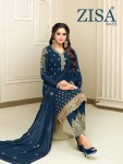 Zisa vol 53 Festive Season heavy collection of salwar kameez