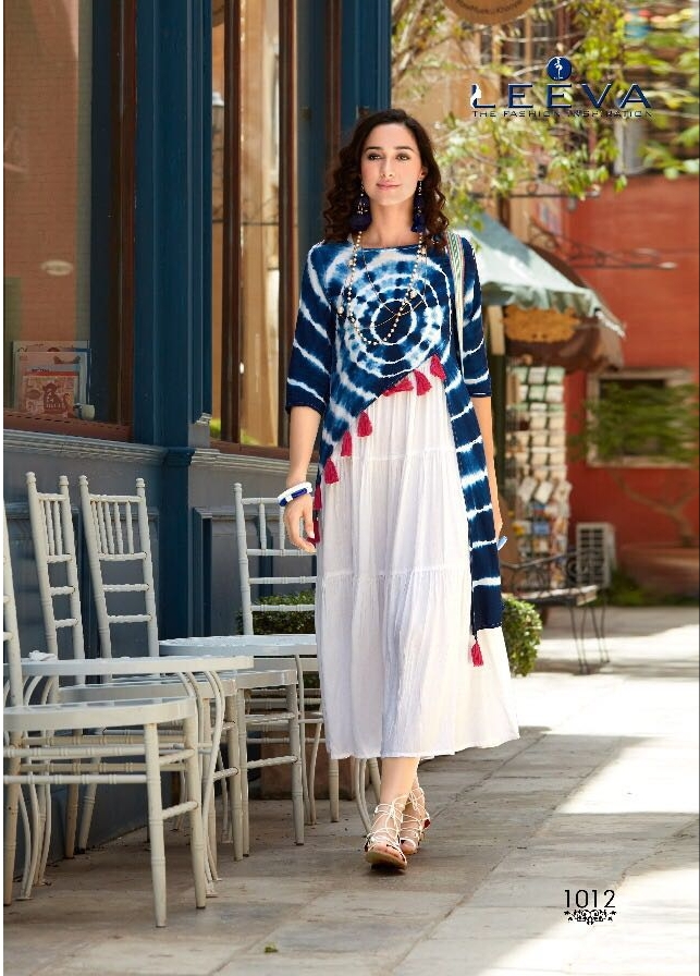 Leeva Impress Vol 2 Elegant Party Wear Kurties Collection