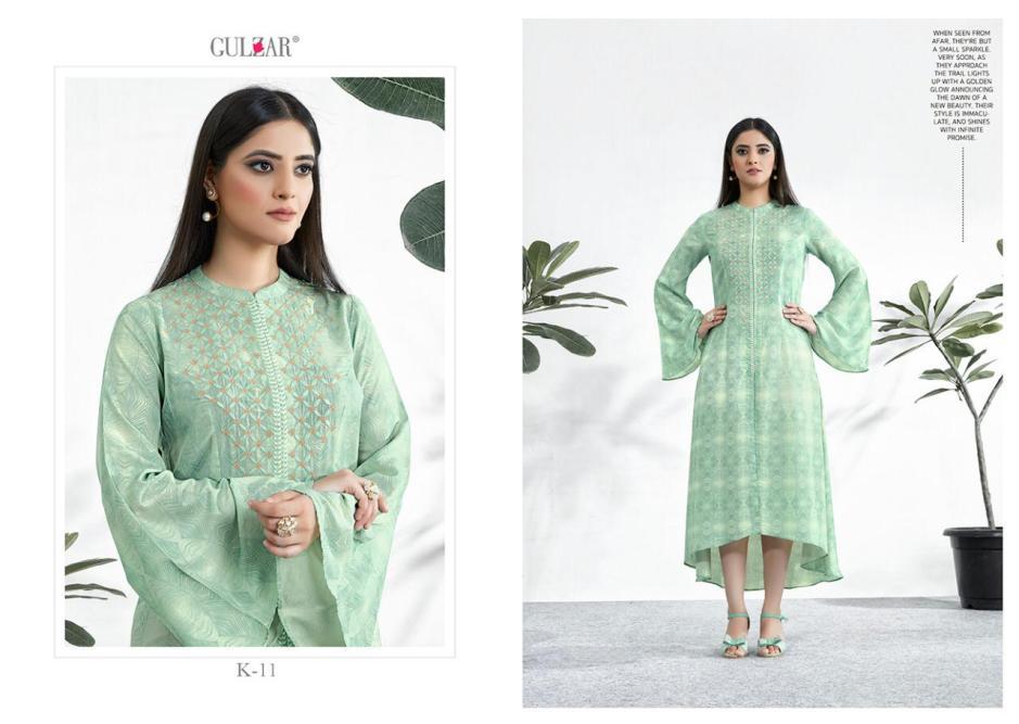 Gulzar launch k series vol 2 timeless wear simple elegant look kurtis concept