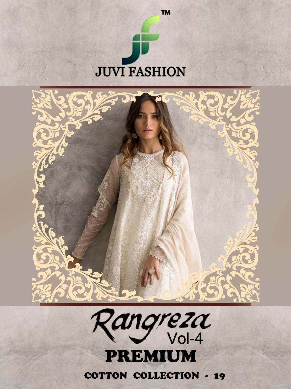5504ffc0c3 Juvi fashion rangreza vol 4 premium cotton collection 19 Cambric cotton  Pakistani salwar kameez Collection