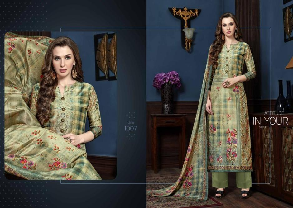 Kay vee suits royal silk pure silk collection beautiful wear salwar kameez Collection at Wholesale Rate