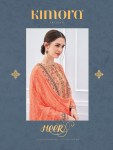 Kimora heer 42 digital printed casual wear salwar Kameez Collection