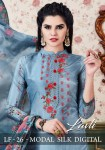 Lavli lf vol 26 modal silk fancy colourful party wear Salwar Kameez Collection