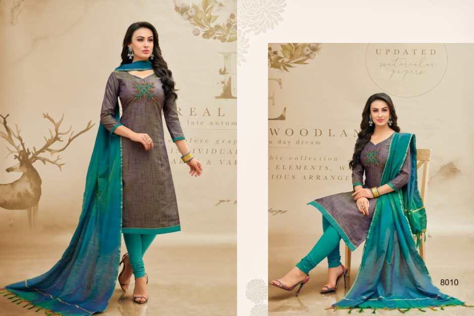 R r fashion presents banarashi style vol 3 simple casual wear salwar kameez collection