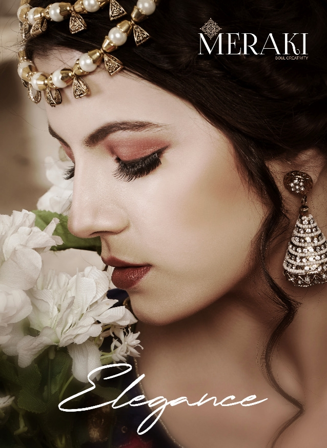 Sanskar style meraki Elegance heavy Gown bridal wear beautiful designs catalog